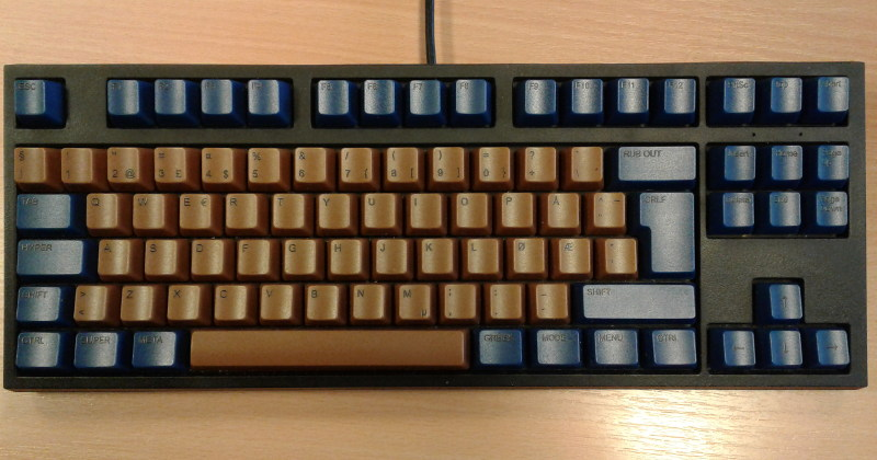Symbolics tribute keyboard